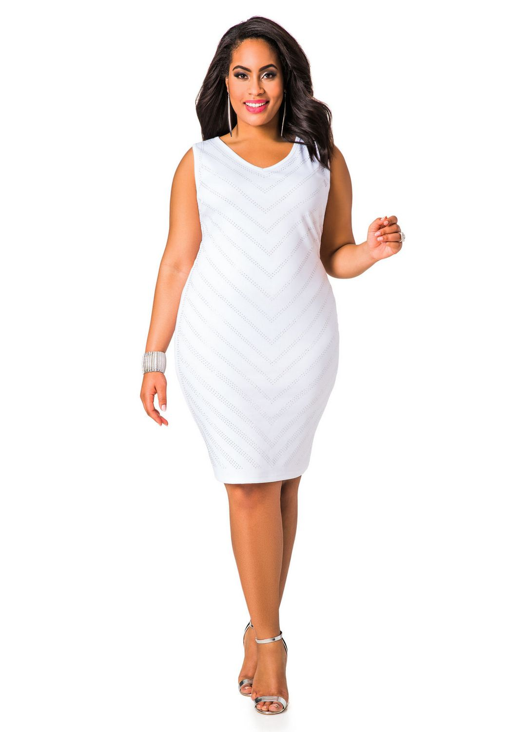 89ccb7a7ab2e 13 Plus Size Little White Dresses for Summer