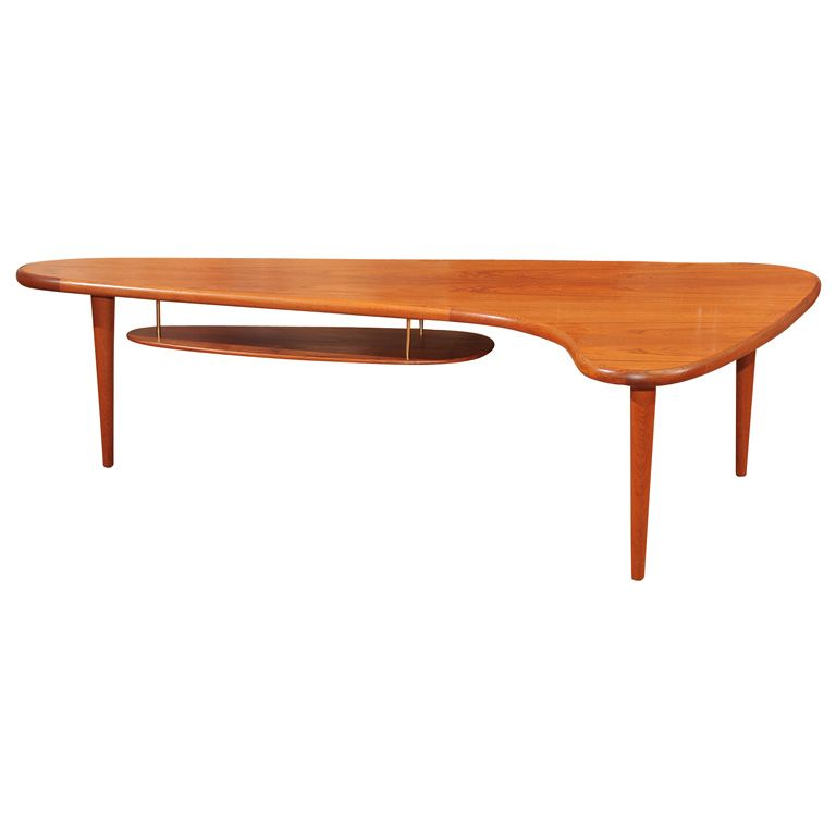 Lane Burl Inset Boomerang Coffee Table And End Table Living