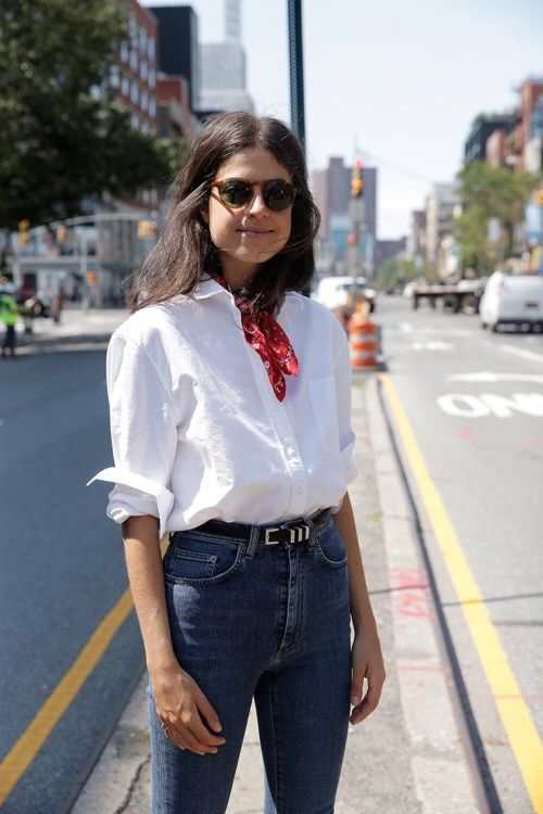 bb0ec337f643 cute bandana look   wear   Style, Fashion, Street style