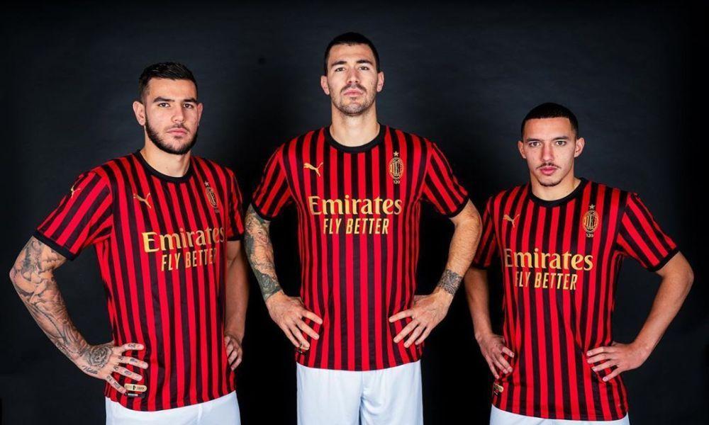 AC Milan 120th Anniversary PUMA Kit - FOOTBALL FASHION | Ac milan ...