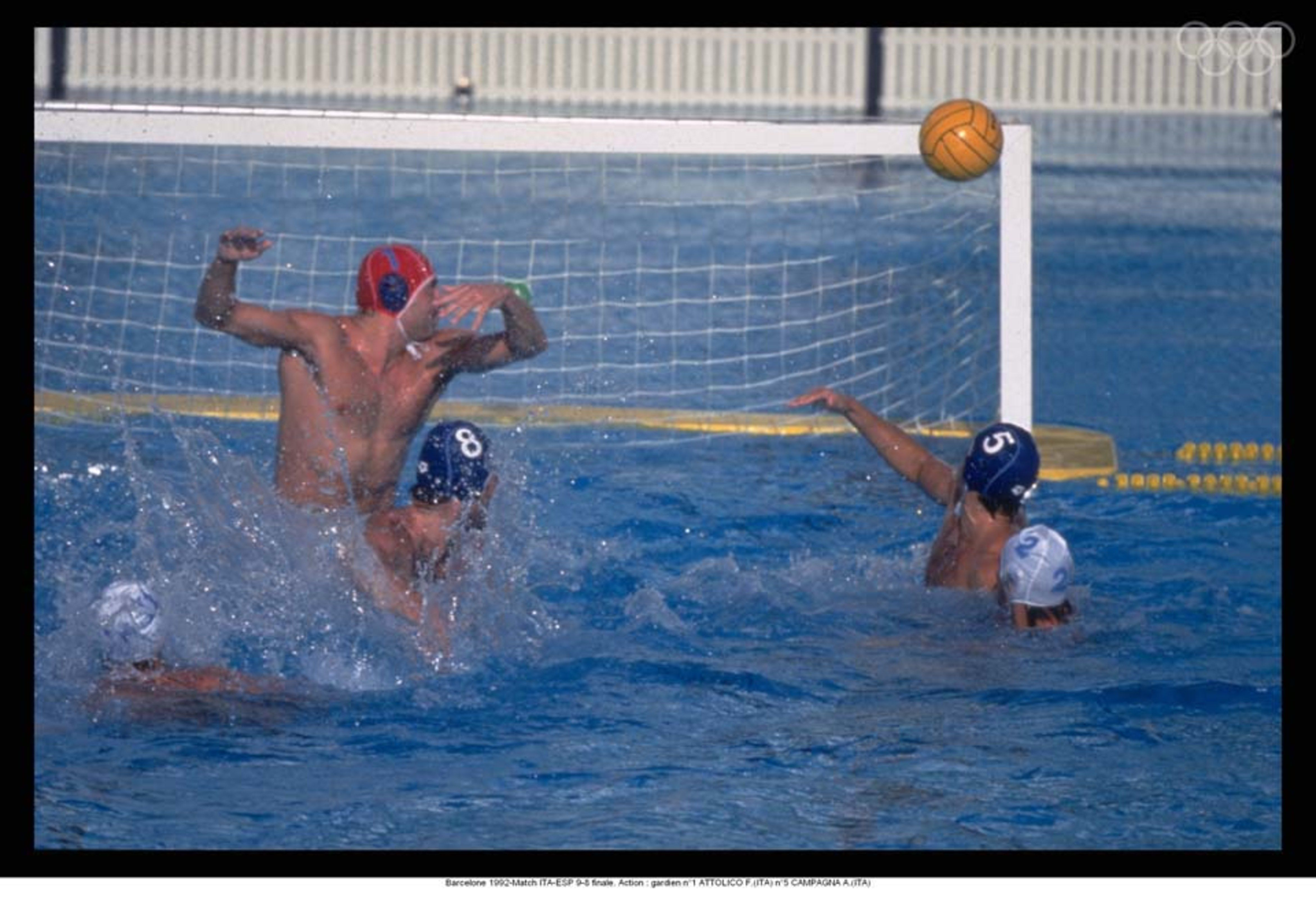 Water Polo At The Barcelona 1992 Water Polo Olympic Hero Water