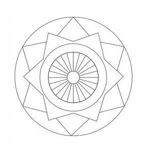 Geometric Pattern Coloring Pages 1 Free Printable Coloring