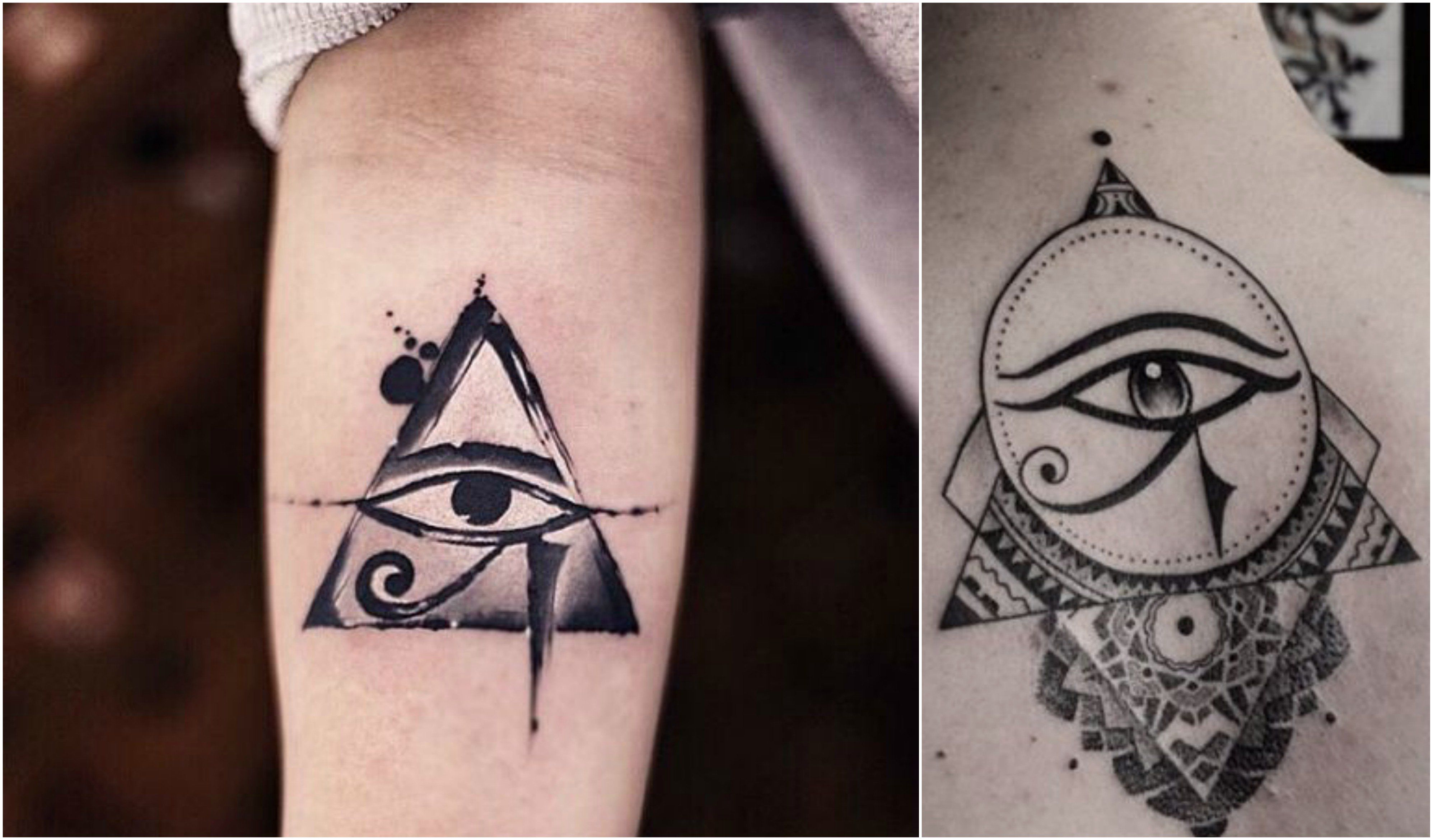Image result for eye of horus tattoo meaning Egyptian