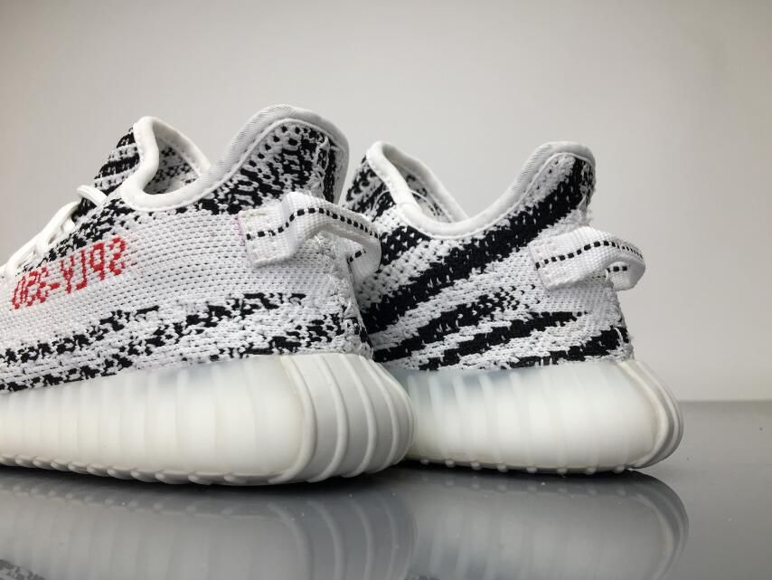 "size 40 c7683 4c9b2 Adidas Yeezy Boost 350 Infant ""Zebra"" BB6374 Kids Real Boost ..."