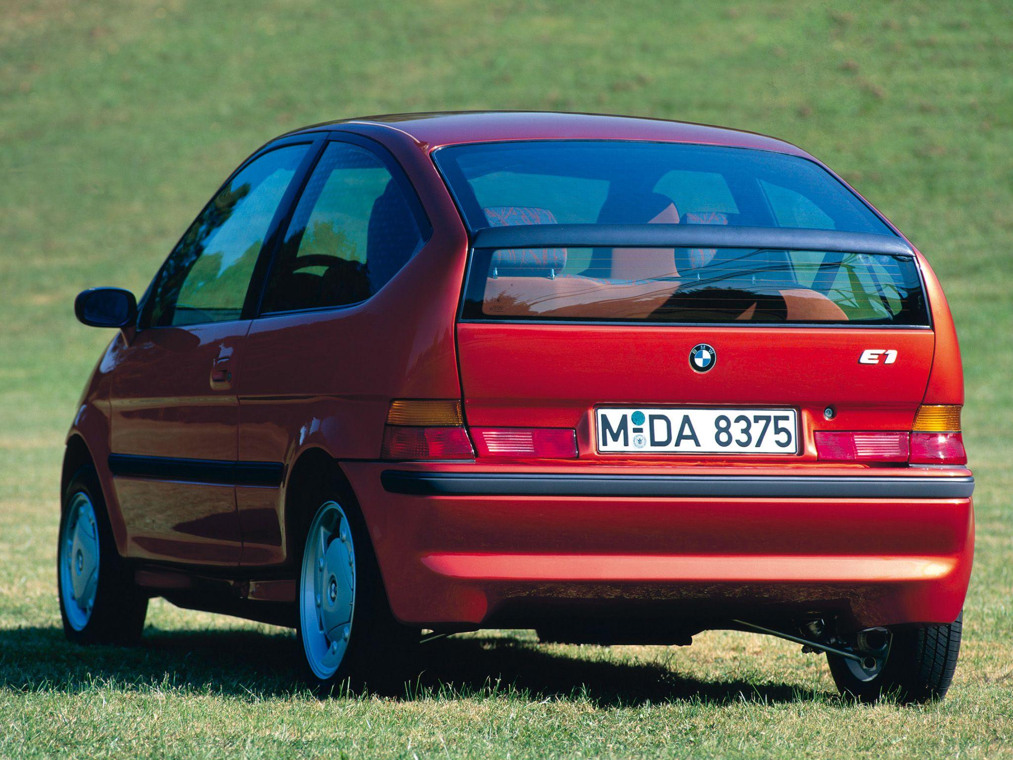 1991 BMW Z11 (E1) Concept | Mentalität | Pinterest | BMW, Auto ...