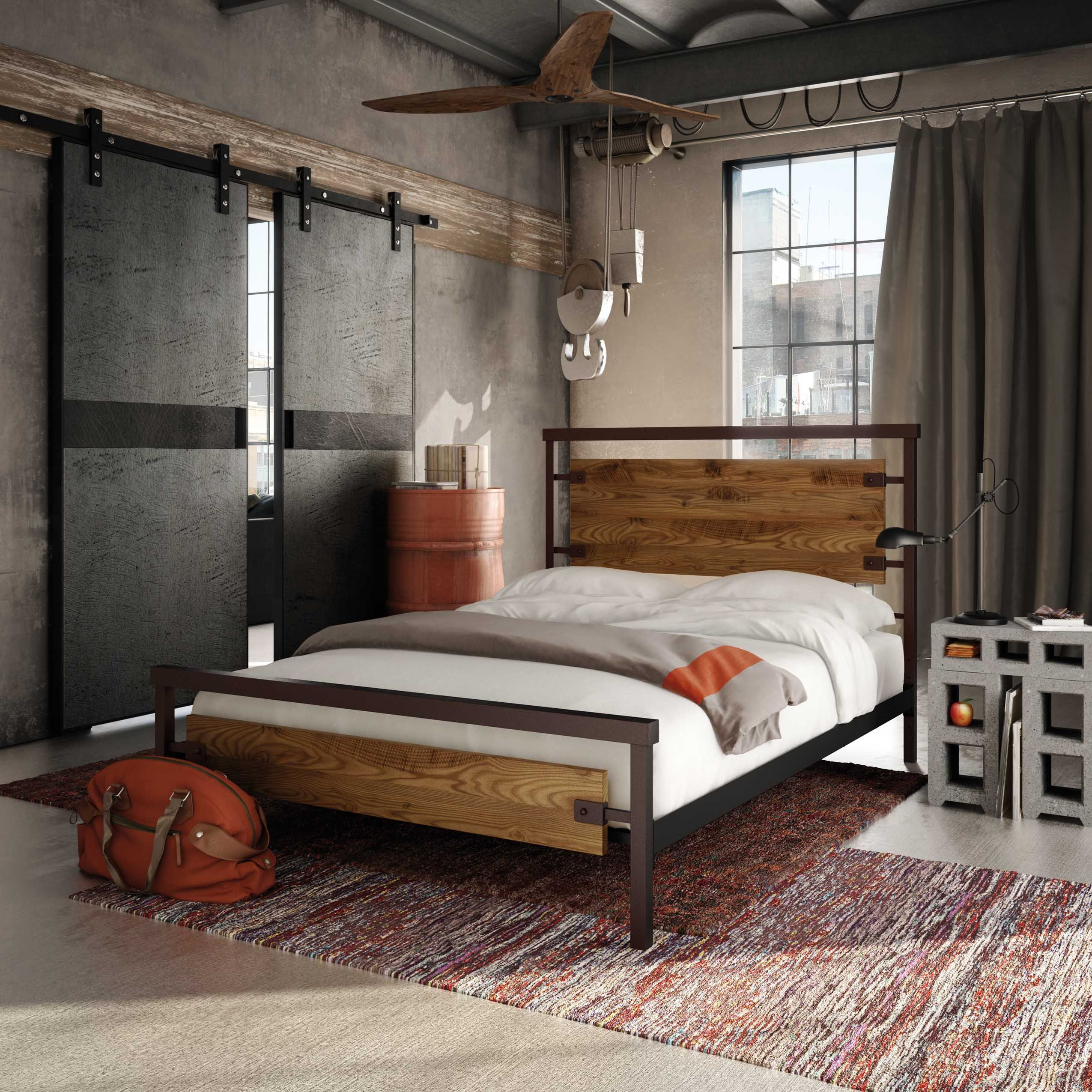 Amisco - Factory Bed 12389 Furniture Bedroom