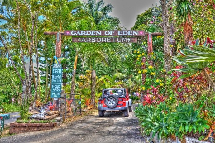 Hana Maui Botanical Gardens Hana Hi