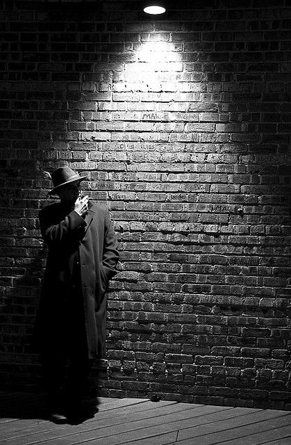 Just I Have Found Some Position And Lighting Of Film Noir Style Faux BrickFilm InspirationBlack
