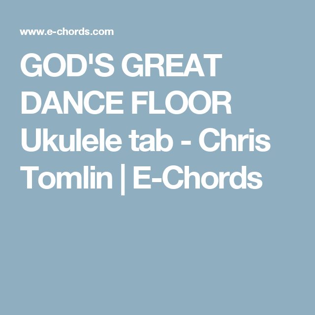 Great Dance Floor Chords Wikizie