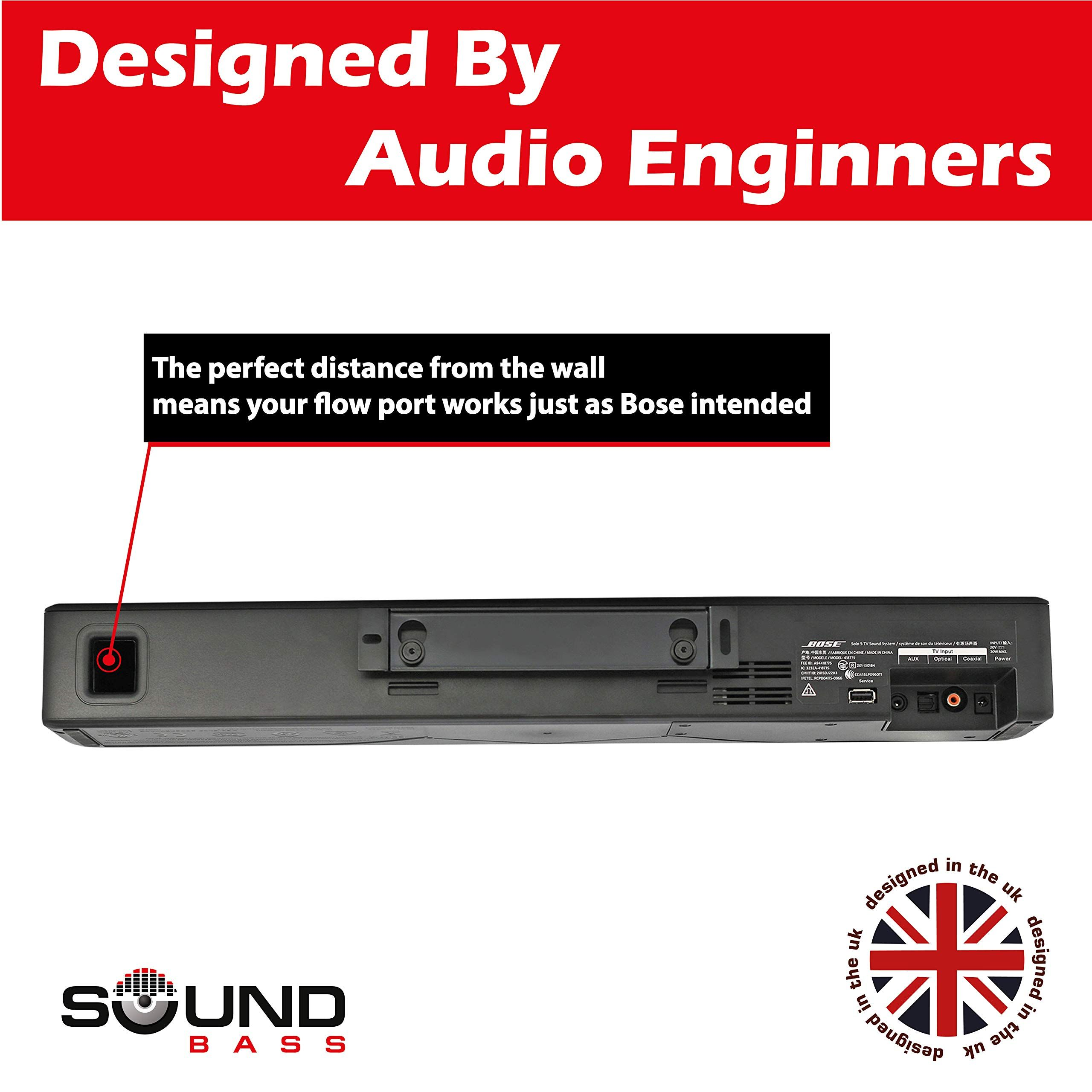 Solo 5 Wall Mount Kit For Bose Solo 5 Complete With All Mounting Hardware Designed In The Uk By Soundbass Kit B Speaker Wall Mounts Design Speaker Brackets