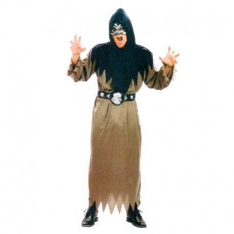 Disfraces Halloween | Disfraz de calavera. Contiene tunica, cinturon y capucha.Talla M/L. 14,95€ #calavera #disfrazcalavera #disfraz #halloween #disfrazhalloween #disfraces