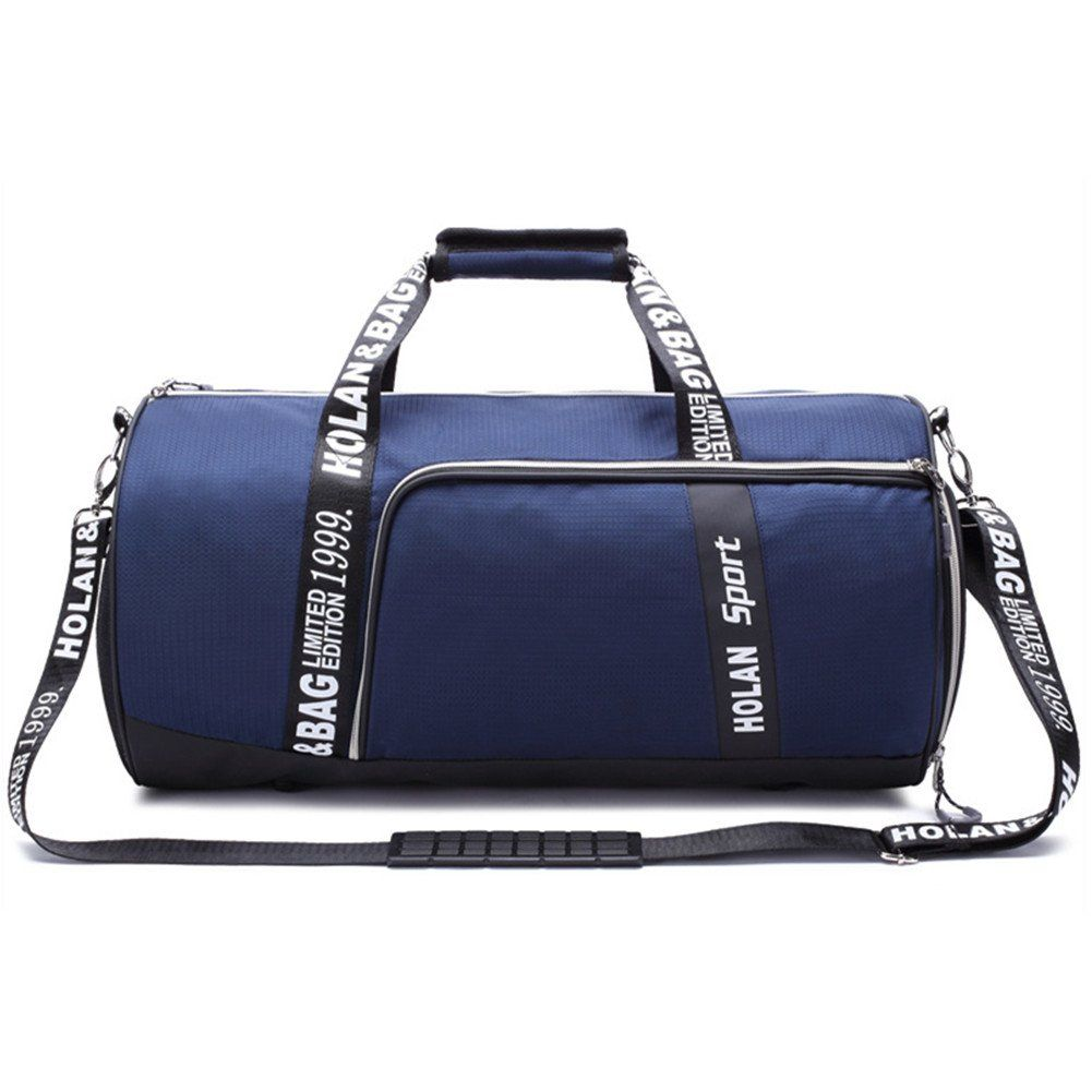 0e31ba6c905b BigBoss Sports Bag for Men Women Shoes Compartment Travel Duffel Bag M Blue      You can find more details by visiting the image link.