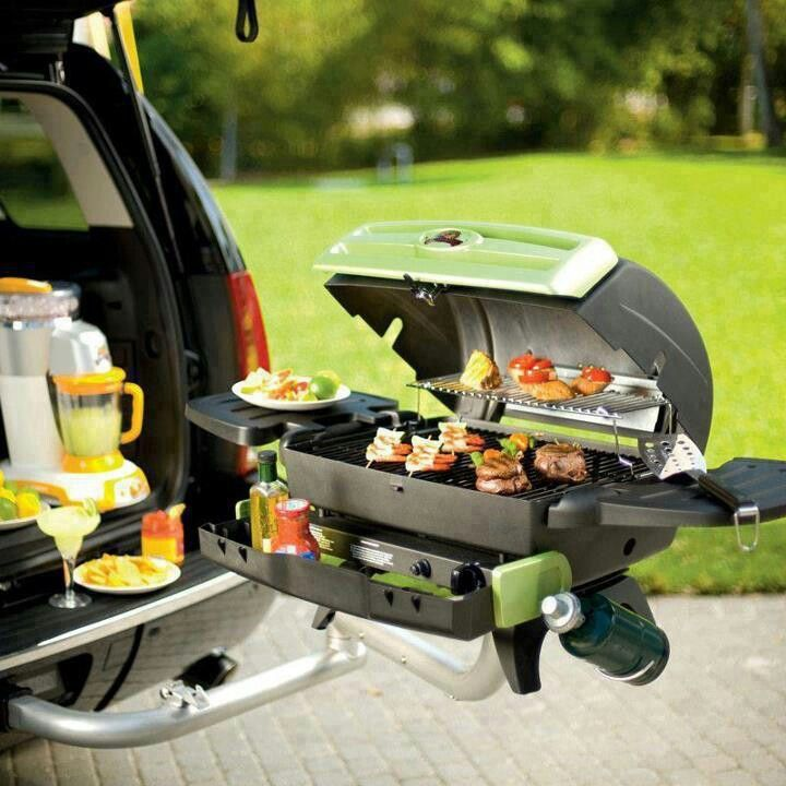 Cool idea. Great for camping, tailgating, or even just having a picnic.