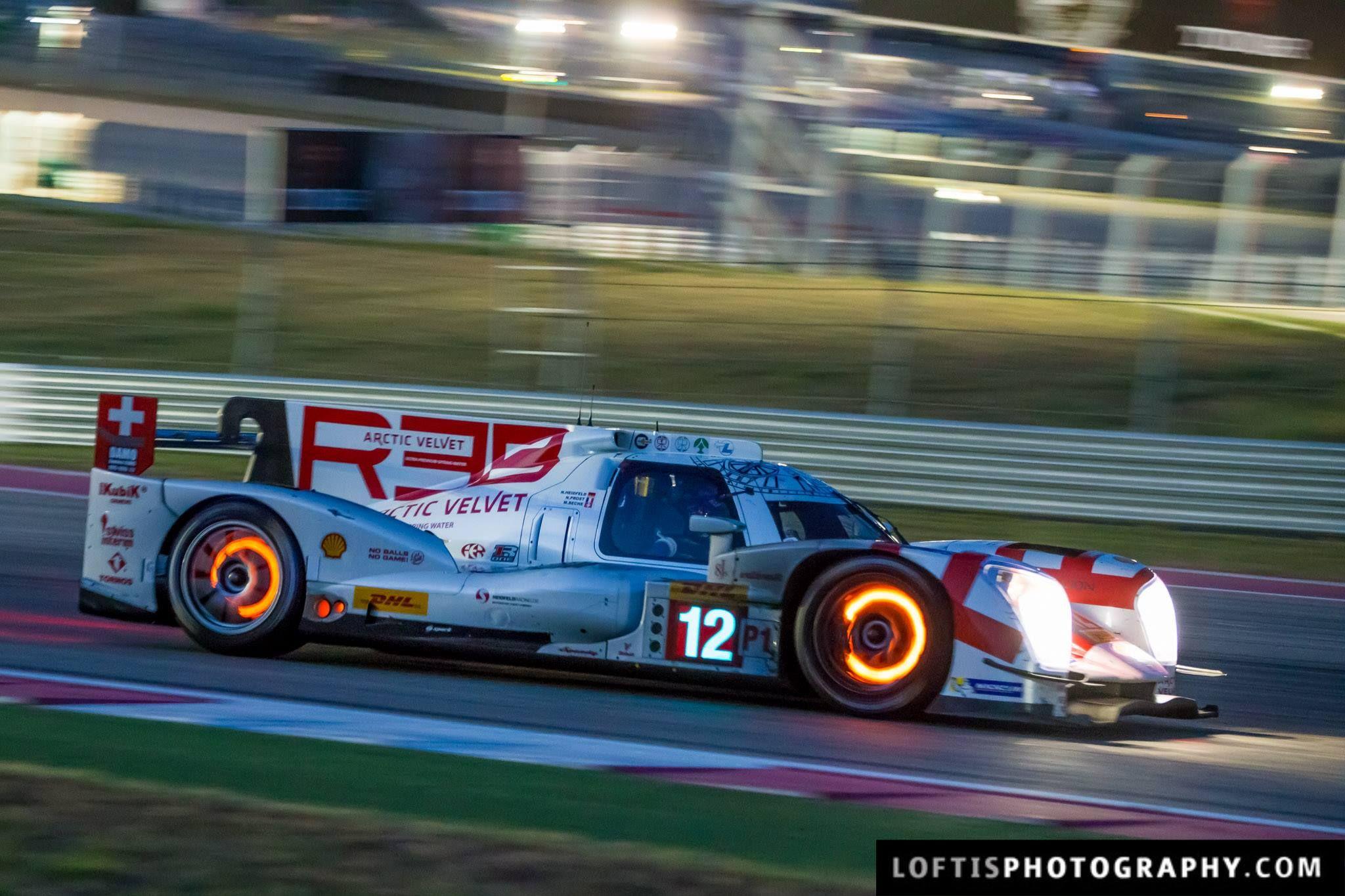 Brake Glow The 12 Rebellion Racing R One Aer Entering Turn 1