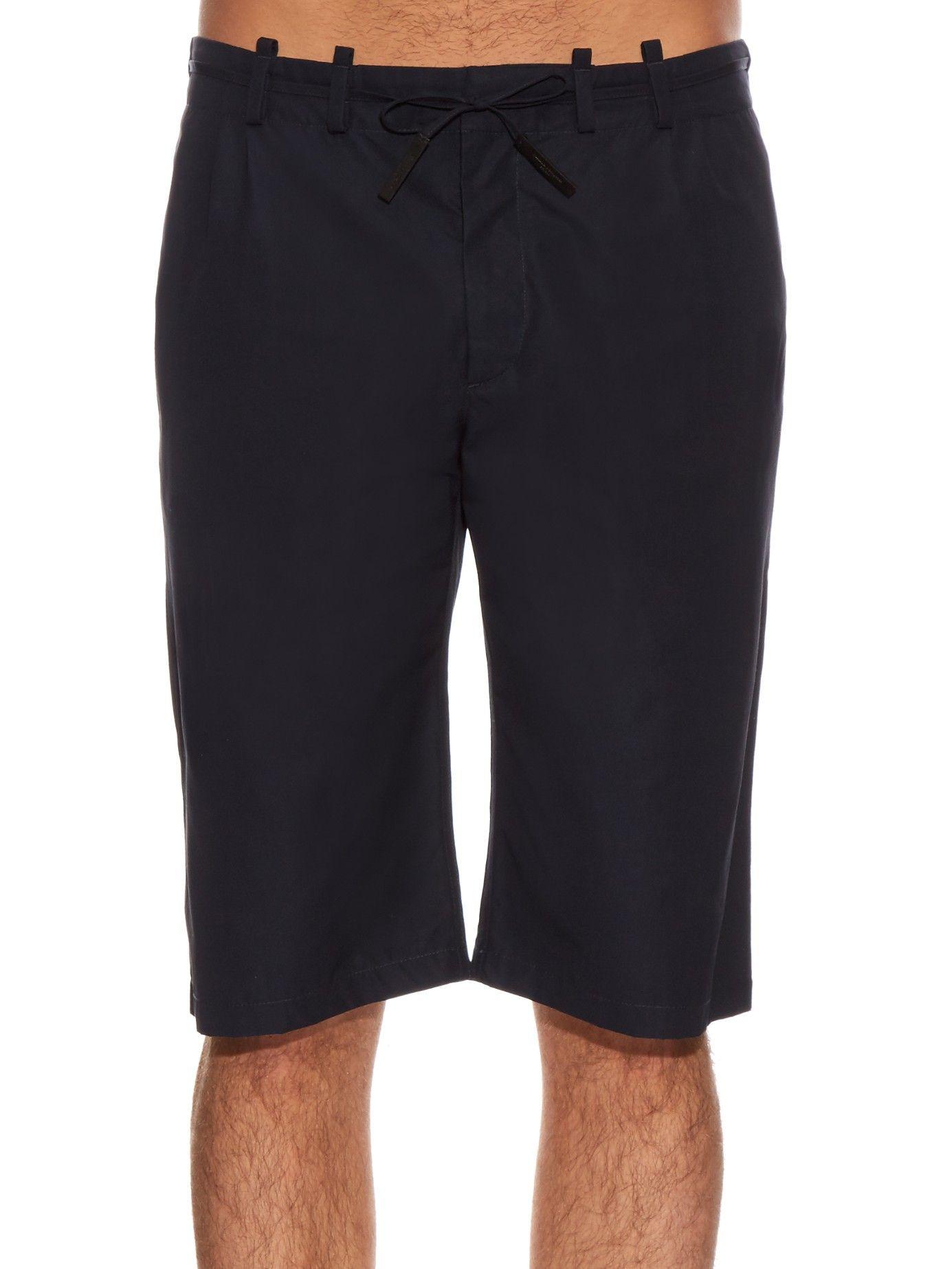 Cotton-poplin shorts   Maison Margiela   MATCHESFASHION.COM US