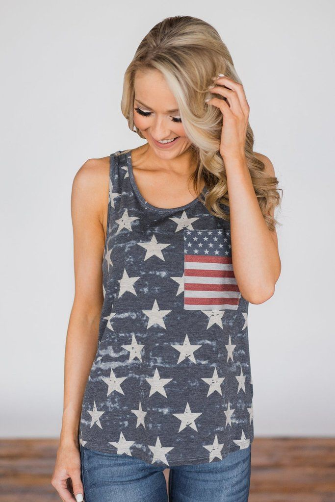 Womens National Flag Casual Plus Size Blouse Hollow Out Vest Patchwork Tank Top