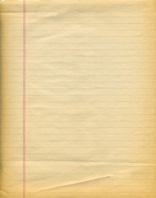 Old Notebook Paper Background Texture | Free Digital Downloads