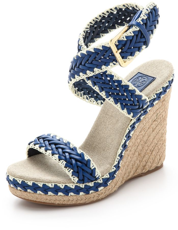 2c69fb018213d1 Tory Burch Lilah Wedge Sandals  summerstyletrends  fashion  shoes  wedges