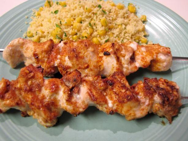 Suya Nigerian Chicken Skewers Recipe Food Com Recipe Chicken Skewers African Food Recipes
