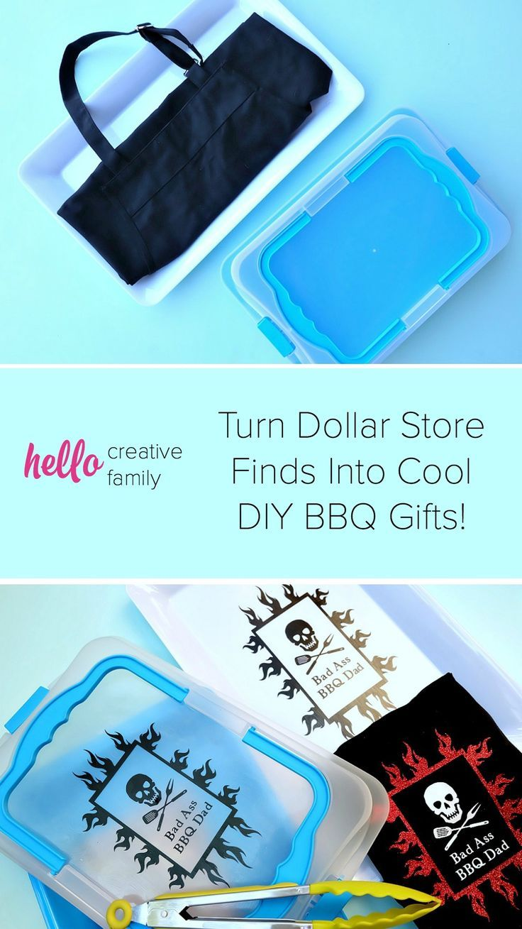 Diy bbq gift ideas for dads made on the cricut perfect
