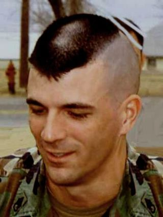 military haircut landing strip