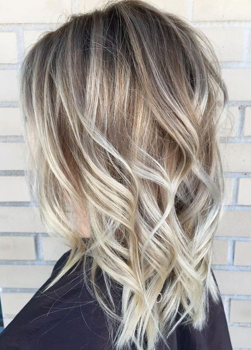 Foilyage Blonde Balayage Hair Color Ideas For 2018 Womens