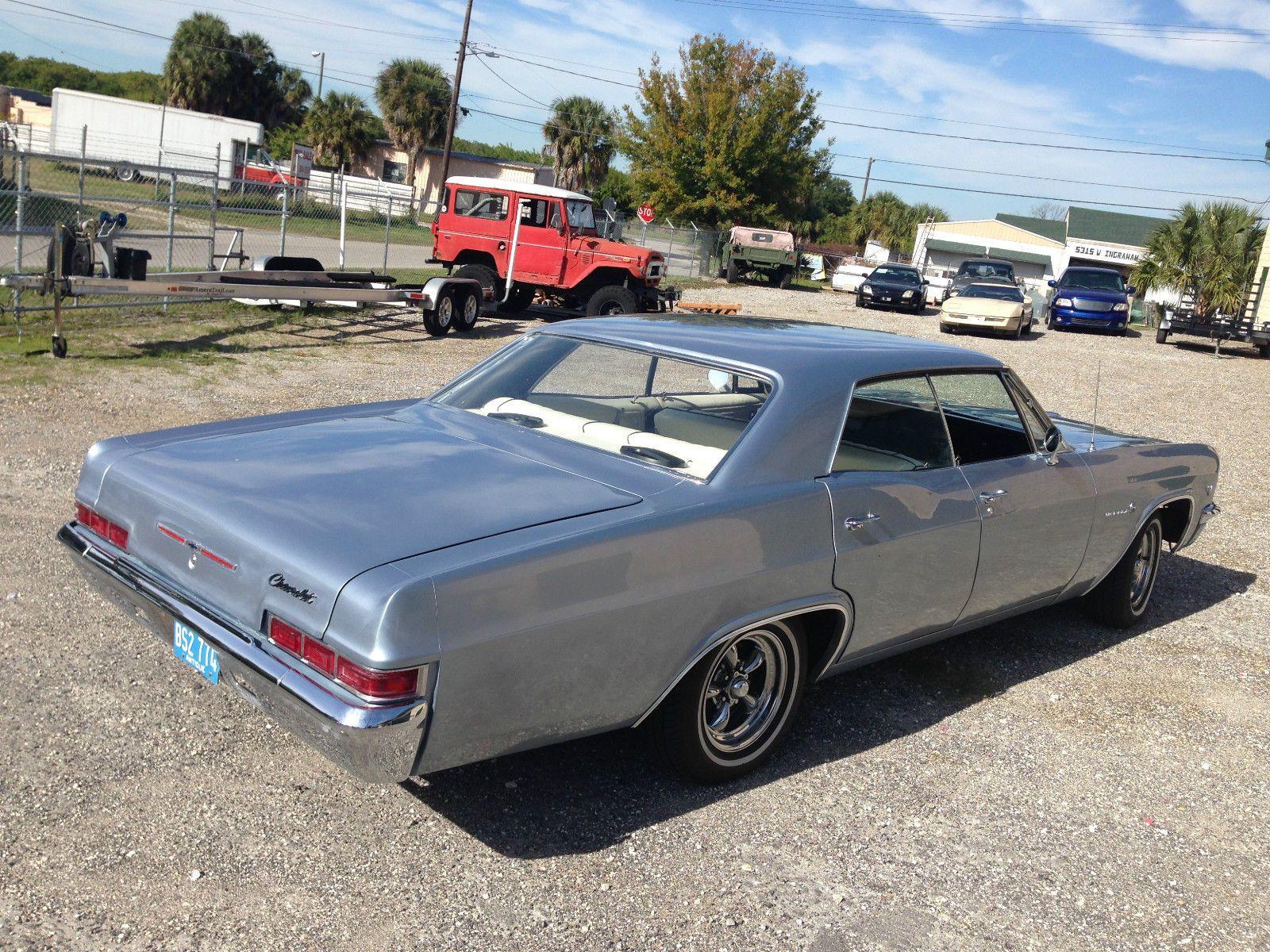 1966 Chevy Impala 4 Door Hardtop For Sale In Tampa Florida United States 1966 Chevy Impala Chevy Impala Chevy