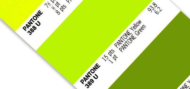 Lime Green Pantone