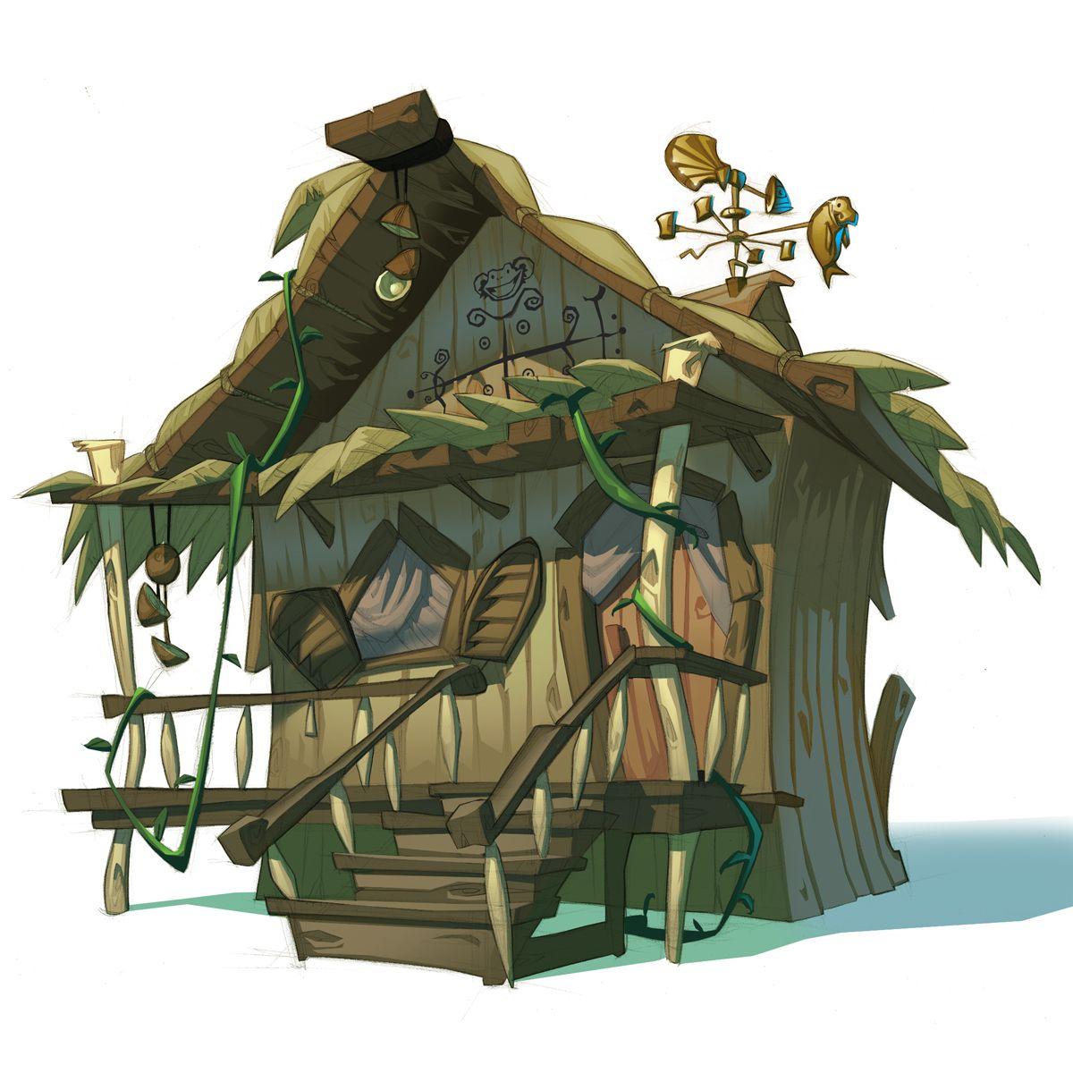 Monkey island 2 lechuck s revenge concept art the international - Tales Of Monkey Island 2009