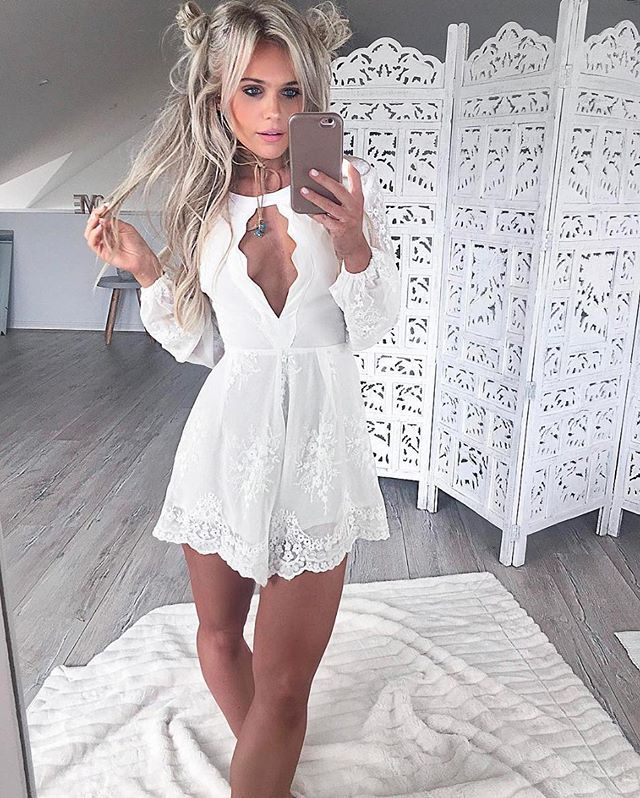 Pure Soul Pic Pinterest: Embrace Your Girly Side With The Pure Innocence Playsuit