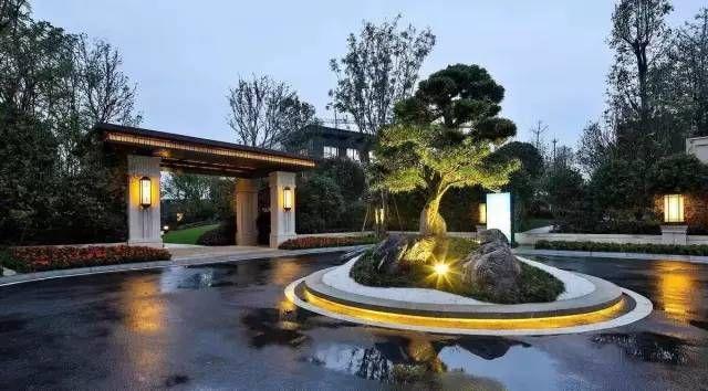 Pin By Zzj On 中式景观 Japan Garden Modern Entrance Feature Wall Design