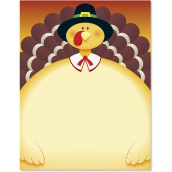 Thanksgiving paper border