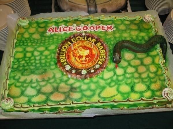 Billion dollar babies cake Alice cooper cakes Pinterest