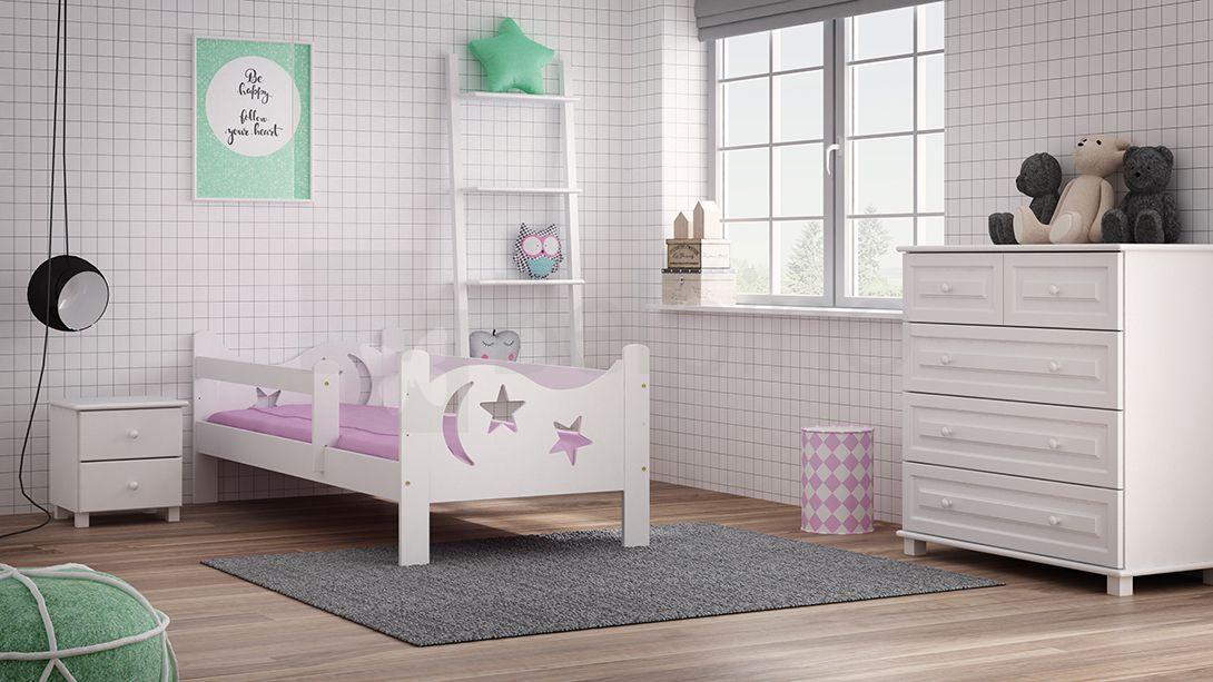 Lozko Dzieciece 160x80 Dla Dzieci Biale B1 Gratis 7071282218 Oficjalne Archiwum Allegro Toddler Bed Kids Rugs Home Decor