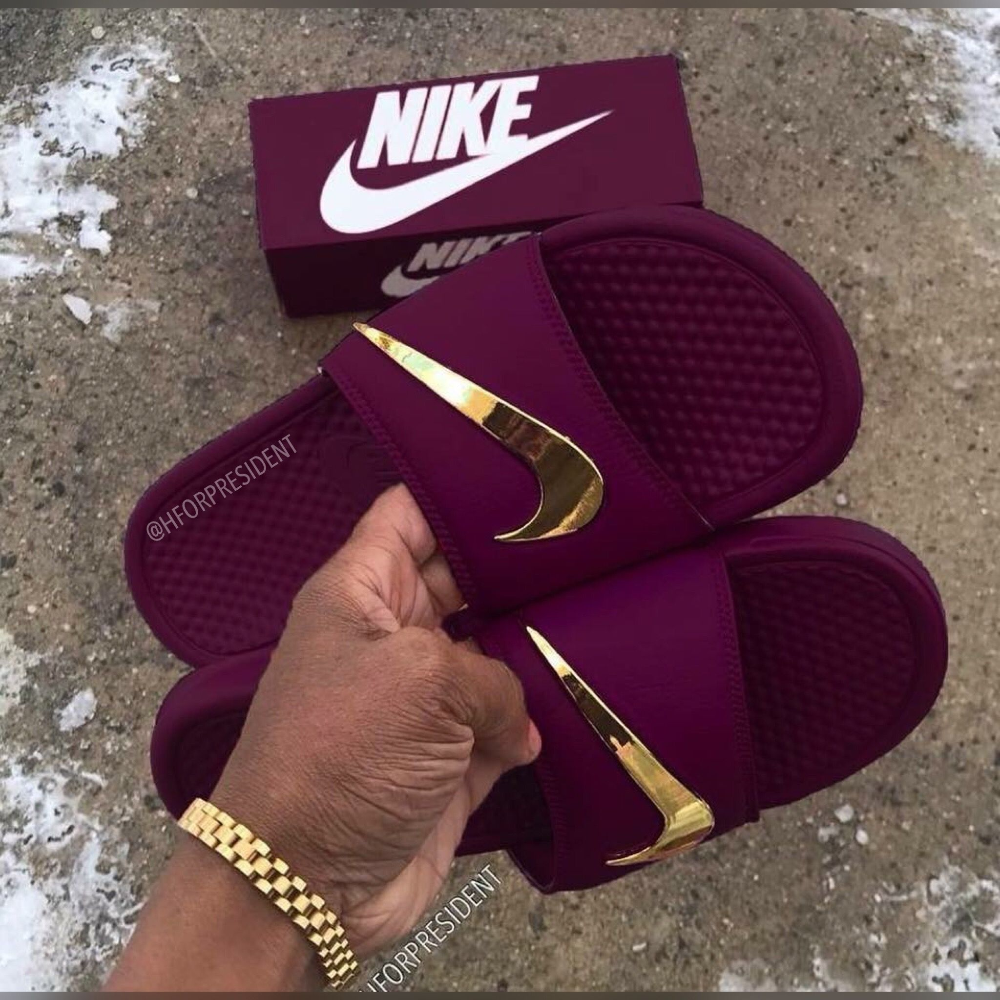 27d693603f82 Pin by SkyLife Boutique on Custom Nike Slides