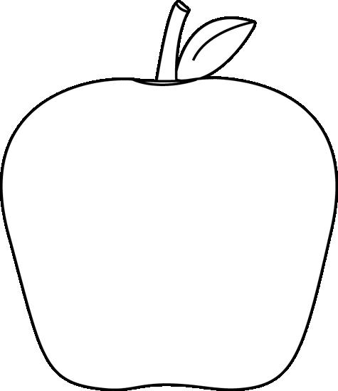 Black And White Apple Clip Art Black And White Apple Image Apple Clip Art Clip Art Apple Images