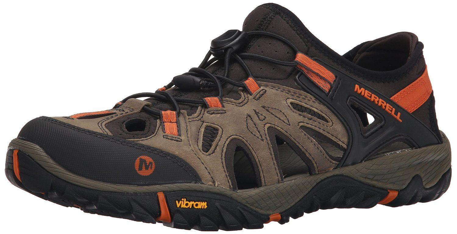 cc82fa30066eb Amazon.com: Merrell Men's All Out Blaze Sieve Water Sandal: Clothing ...