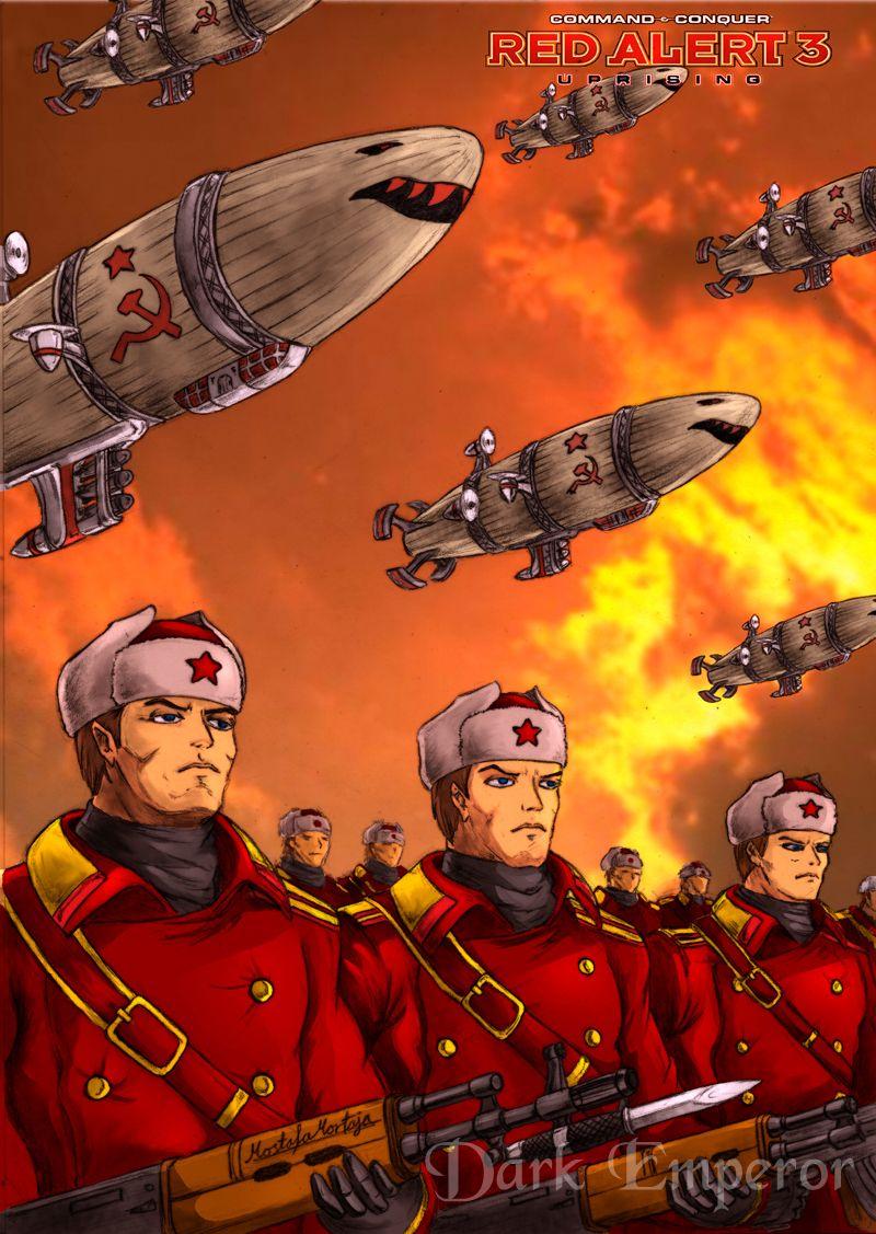 The Soviet march under red sky by ~DarkEmperor00 on ...
