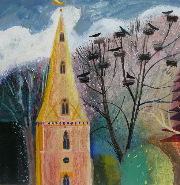 Crows Church By Mary Sumner