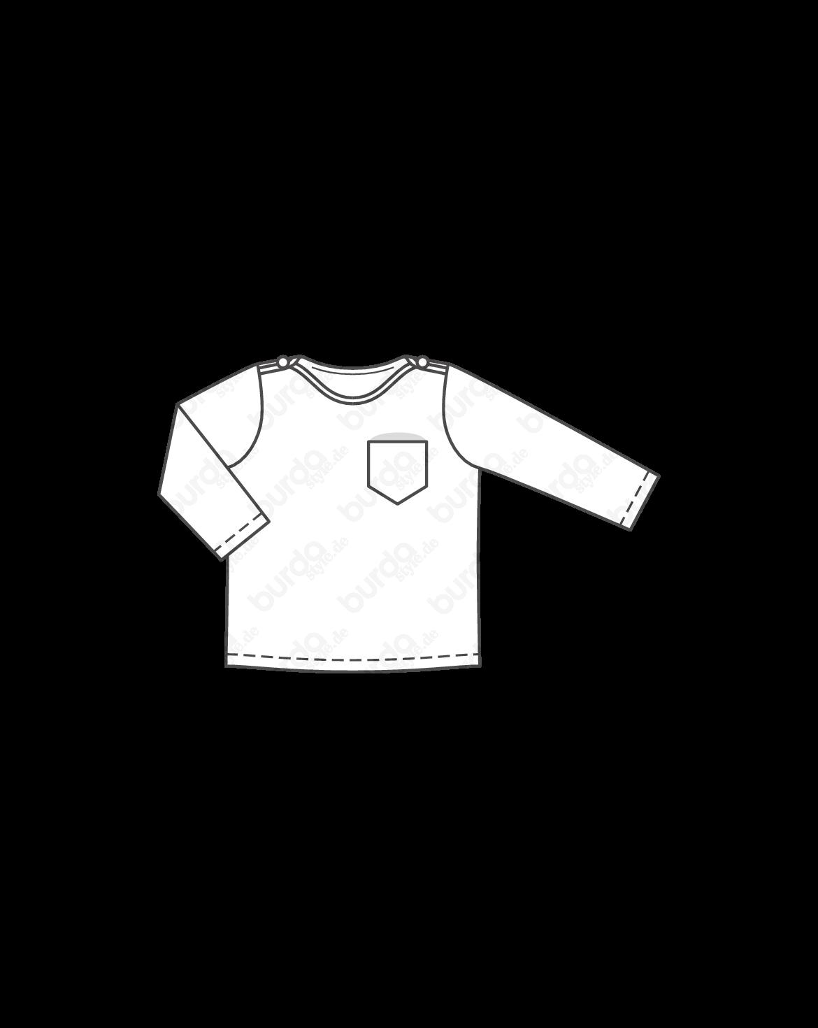 Sweatshirt | Mode zum Selbernähen im burda style Onlineshop
