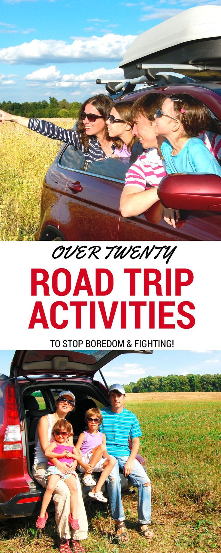 Over 20 Fun Road Trip Ideas for Kids    Pinterest   Family trips     These printable game and education worksheets make your next family trip  more exciting