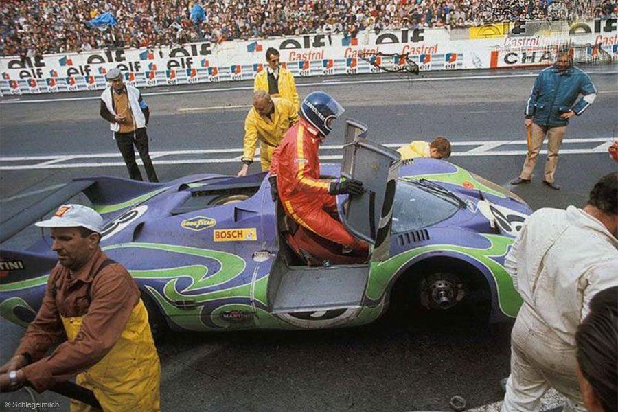 1970 24 Hours Of Lemans Hippie Porsche 917lh Le Mans