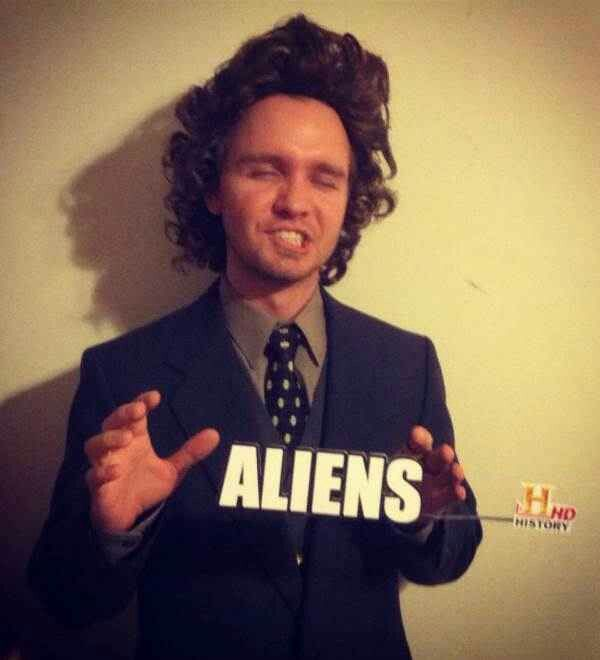 History Channel\u0027s alien man Halloween costume Halloween - 4 man halloween costume ideas