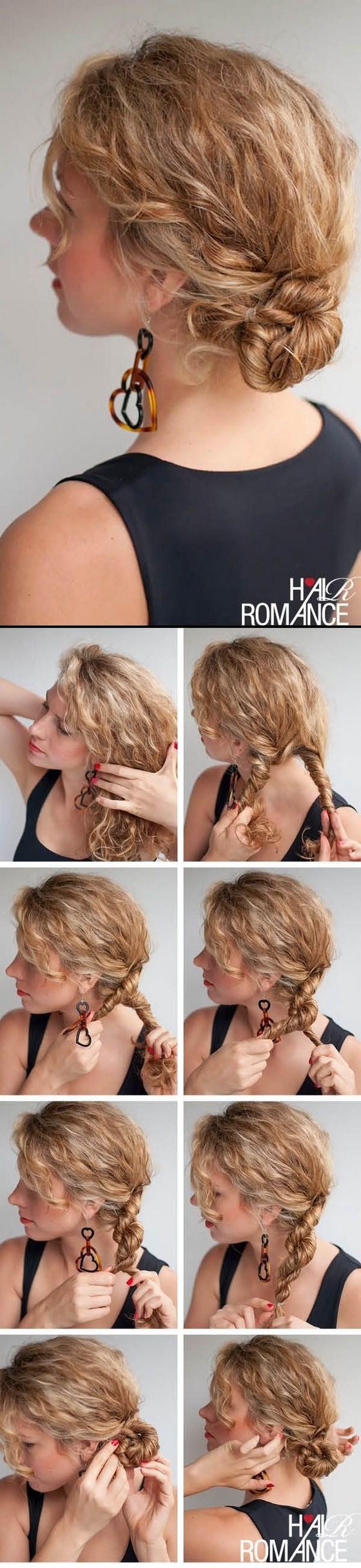 Peinados para cabello crespo porque nada es imposible Pinterest