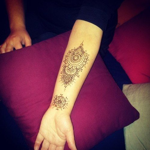 Henna Designs For Inner Arm