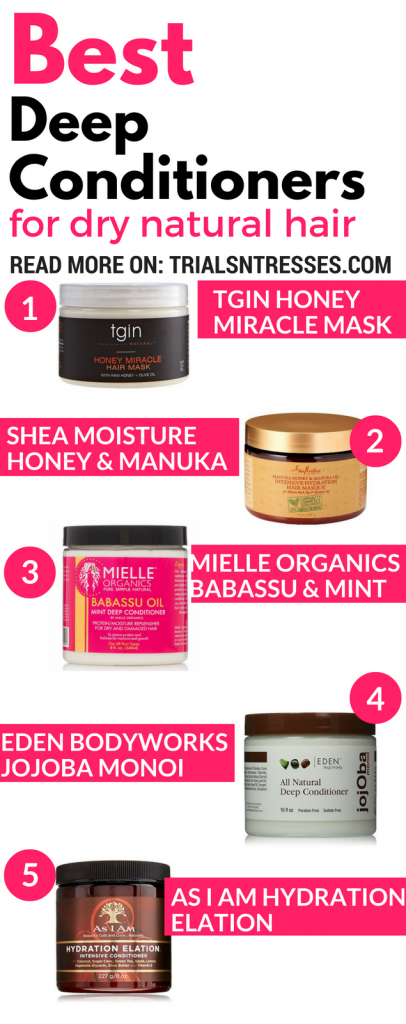 Best Deep Conditioners For Dry Natural Hair - Trials N Tresses