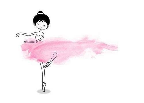 Disegni Di Ballerine Da Disegnare : The pink ballerina artsy disegno arte acquerello