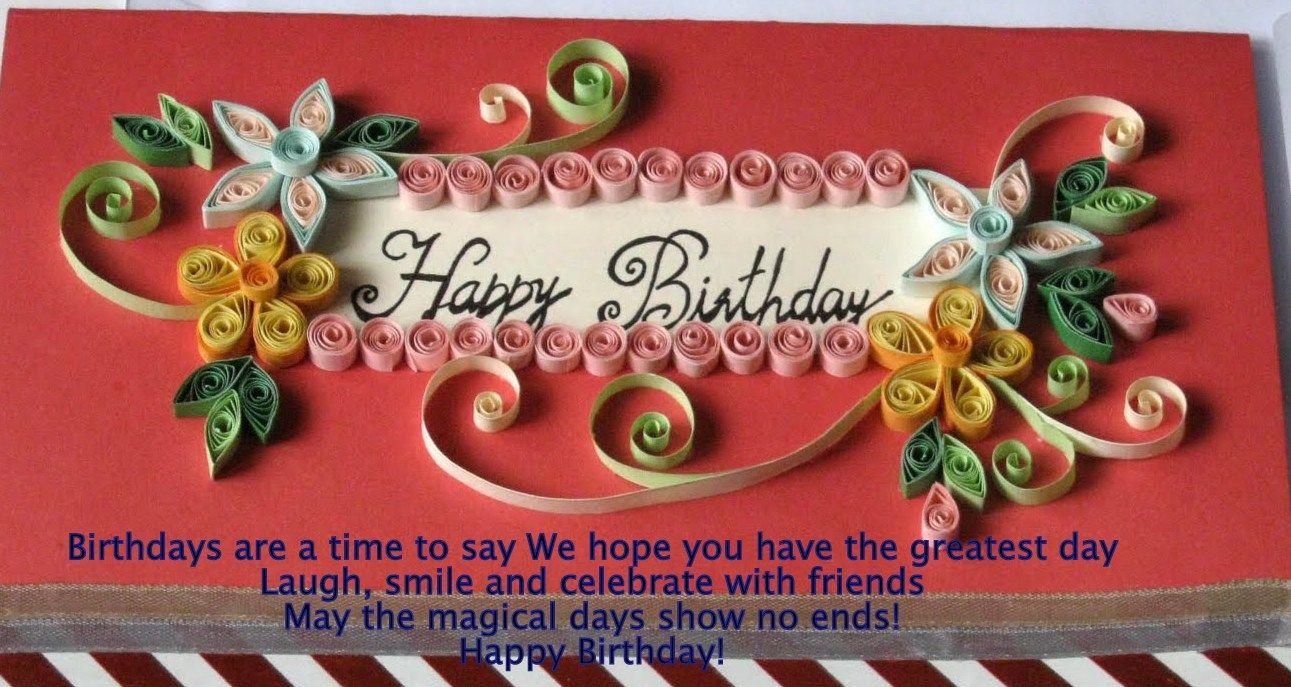 Birthday Wishes – Greetings Birthday Wishes