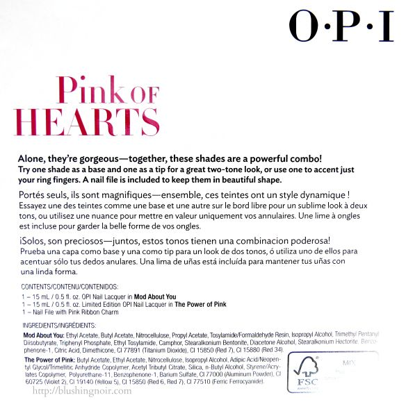 OPI Mod About You, The Power of Pink Nail Polish Swatches & Review – Pink of Hearts 2014 http://www.blushingnoir.com/2014/09/opi-mod-power-pink-nail-polish-swatches-review-pink-hearts-2014/ #MakeupCafe