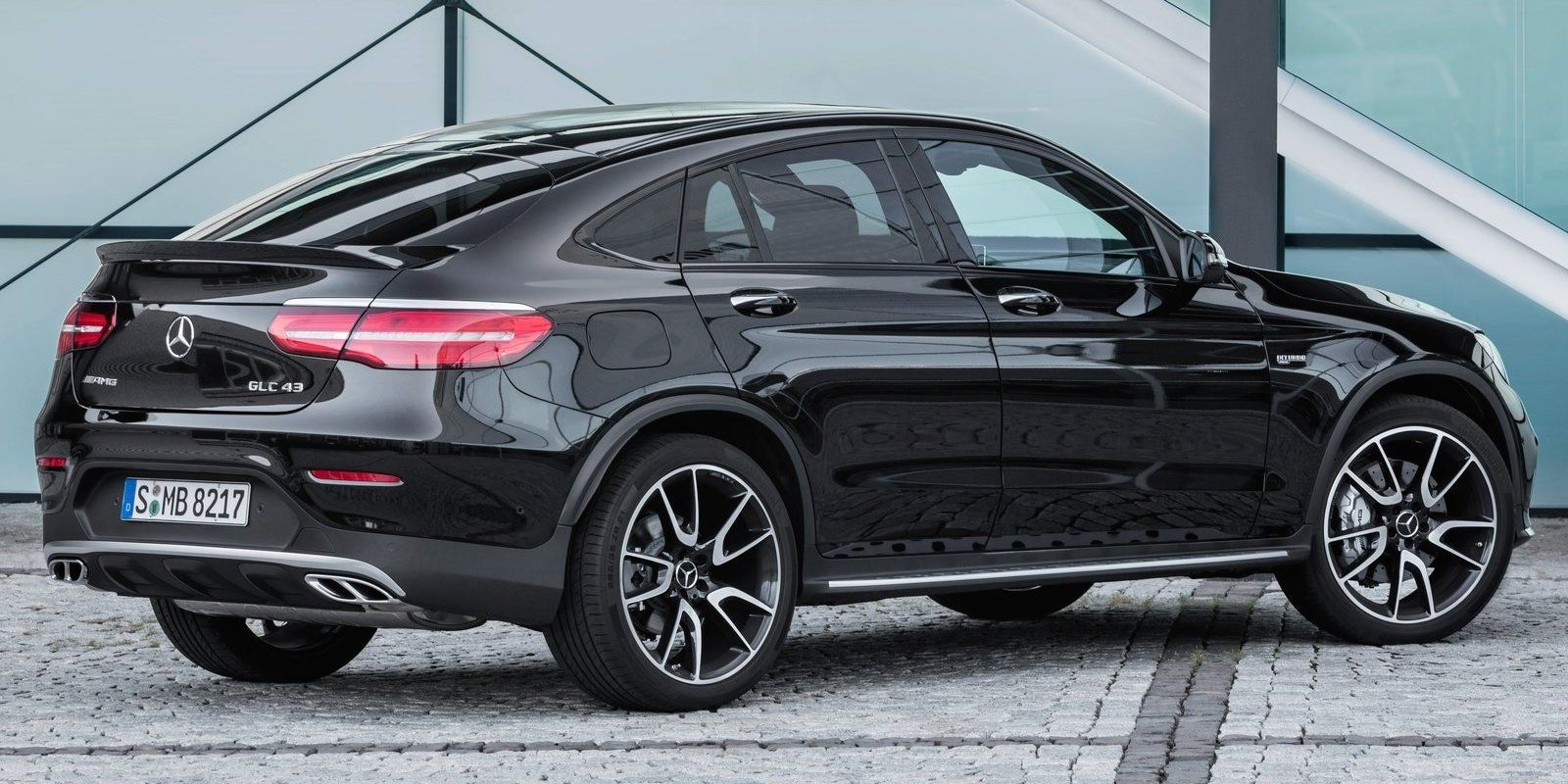 Mercedes Fast Ifies The Glc Coupe With 362 Horsepower Mercedes